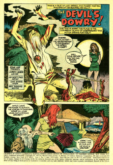 Extrait de Chamber of Chills (Marvel - 1972) -5- The Devil's Dowry!