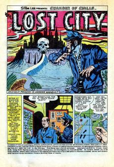 Extrait de Chamber of Chills (Marvel - 1972) -10- (sans titre)
