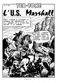 Extrait de Tex-Tone -236- L'U.S. Marshall