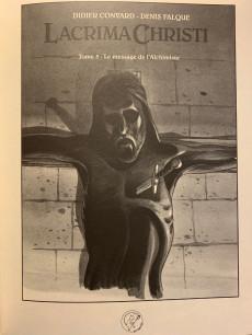 Extrait de Le triangle secret - Lacrima Christi -5TT- Le message de l'alchimiste
