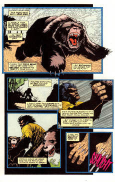 Extrait de Marvel Fanfare Vol. 2 (Marvel - 1996) -2- The Hulk, The Wendigo, and Wolverine! Need We Say More, Bub?