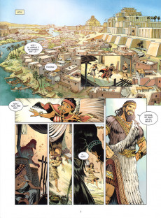 Extrait de Gilgamesh (Bruneau/Taranzano) -1- Les frères ennemis