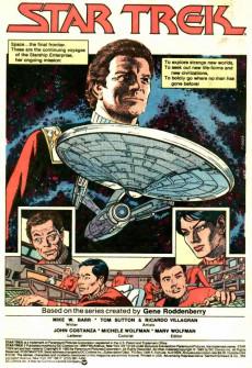 Extrait de Star Trek (1984) (DC comics) -1- Chapter I: The Wormhole Connection