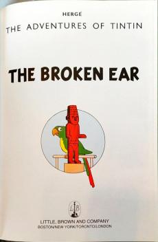 Extrait de Tintin (The Adventures of) -INT03- The Broken Ear - The Black Island - King Ottokar's Sceptre