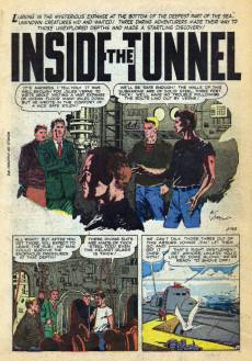 Extrait de World of Fantasy (Atlas - 1956) -2- Inside The Tunnel!