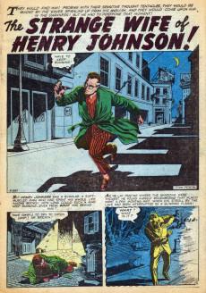 Extrait de World of Fantasy (Atlas - 1956) -4- The Strange Wife of Henry Johnson!
