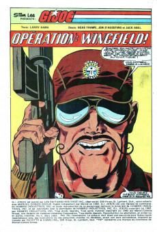 Extrait de G.I. Joe (Éditions Héritage) -4- Opération : Wingfield !