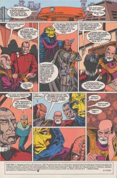 Extrait de Star Trek (1989) (DC comics) -8- Going, Going...