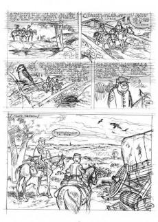 Extrait de Les tuniques Bleues -63TL- La bataille du Cratère