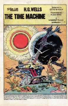 Extrait de Marvel Classics Comics (Marvel - 1976) -2- The Time Machine