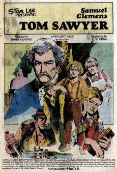 Extrait de Marvel Classics Comics (Marvel - 1976) -7- Tom Sawyer