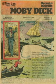Extrait de Marvel Classics Comics (Marvel - 1976) -8- Moby Dick