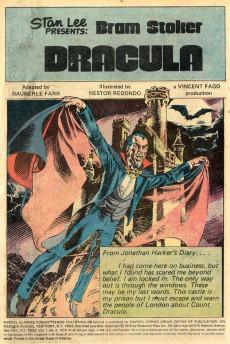 Extrait de Marvel Classics Comics (Marvel - 1976) -9- Dracula