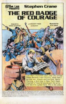Extrait de Marvel Classics Comics (Marvel - 1976) -10- The Red Badge of Courage