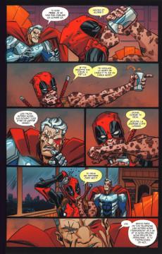 Extrait de Deadpool - Détestable Deadpool -1- Deadpool tue Cable