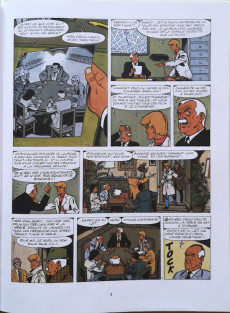 Extrait de Ric Hochet -44a1990- Ric Hochet contre Sherlock