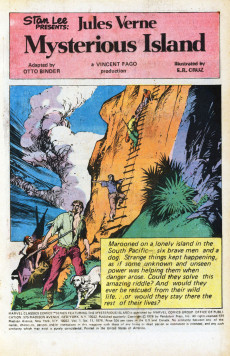 Extrait de Marvel Classics Comics (Marvel - 1976) -11- Mysterious Island