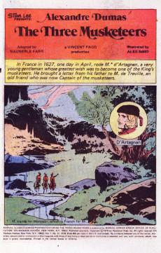 Extrait de Marvel Classics Comics (Marvel - 1976) -12- The Three Musketeers