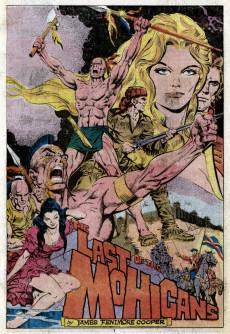 Extrait de Marvel Classics Comics (Marvel - 1976) -13- The Last of the Mohicans