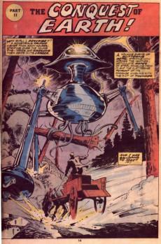 Extrait de Marvel Classics Comics (Marvel - 1976) -14- War of the Worlds
