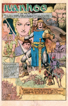 Extrait de Marvel Classics Comics (Marvel - 1976) -16- Ivanhoe