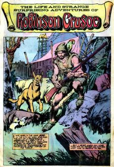 Extrait de Marvel Classics Comics (Marvel - 1976) -19- Robinson Crusoe