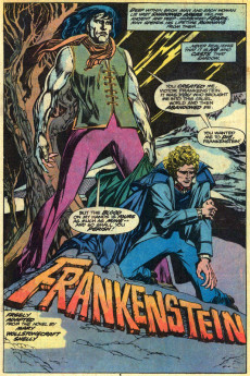 Extrait de Marvel Classics Comics (Marvel - 1976) -20- Frankenstein