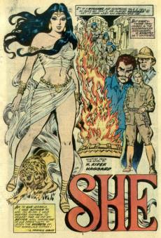 Extrait de Marvel Classics Comics (Marvel - 1976) -24- She