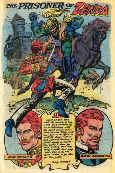 Extrait de Marvel Classics Comics (Marvel - 1976) -29- The Prisoner of Zenda