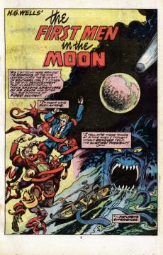 Extrait de Marvel Classics Comics (Marvel - 1976) -31- The First Men In The Moon