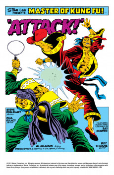 Extrait de Master of Kung Fu Vol. 1 (Marvel - 1974) -18- Martial Arts Action from Mighty Marvel