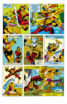 Extrait de Master of Kung Fu Vol. 1 (Marvel - 1974) -22- The Fortune Cookie Says: Death!