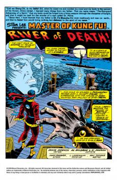 Extrait de Master of Kung Fu Vol. 1 (Marvel - 1974) -23- River of Death!