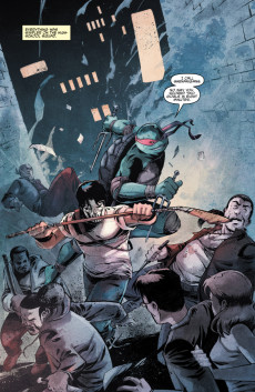 Extrait de Teenage Mutant Ninja Turtles (IDW collection) - Tome 2