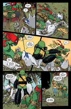 Extrait de Teenage Mutant Ninja Turtles (IDW collection) -4- TMNT IDW Collection #4
