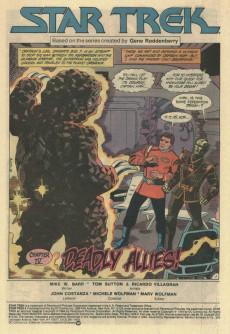 Extrait de Star Trek (1984) (DC comics) -4- Chapter IV: Deadly Allies!