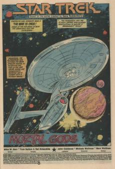 Extrait de Star Trek (1984) (DC comics) -5- Mortal Gods