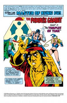 Extrait de Master of Kung Fu Vol. 1 (Marvel - 1974) -59- Behold! The Angel of Doom!