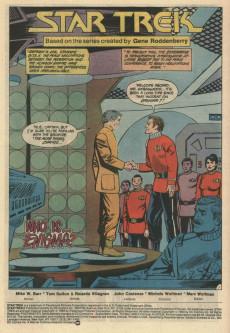 Extrait de Star Trek (1984) (DC comics) -6- Choose Wrong... and It's War!