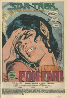 Extrait de Star Trek (1984) (DC comics) -7- The Origin of Saavik!