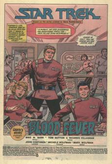 Extrait de Star Trek (1984) (DC comics) -8- Saavik's Story, Chapter Two: Blood Fever