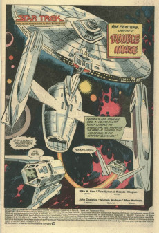 Extrait de Star Trek (1984) (DC comics) -10- New Frontiers, Chapter 2: Double Image