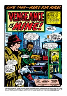 Extrait de Luke Cage, Hero for Hire (Marvel - 1972) -2- He's Danger! He's Death!! He's -- The Man Called Diamondback!