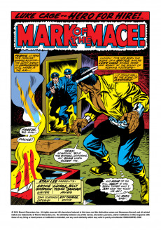 Extrait de Luke Cage, Hero for Hire (Marvel - 1972) -3- Mace Is His Name! Murder Is His Game!
