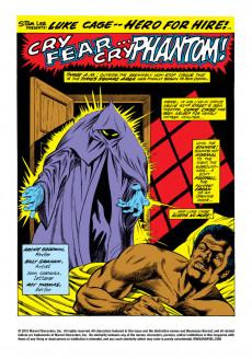 Extrait de Luke Cage, Hero for Hire (Marvel - 1972) -4- The Phantom of 42nd Street!