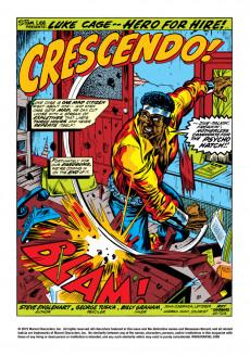 Extrait de Luke Cage, Hero for Hire (Marvel - 1972) -8- A Surprise Super-Villain