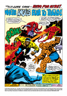 Extrait de Luke Cage, Hero for Hire (Marvel - 1972) -9- Showdown With Dr. Doom!