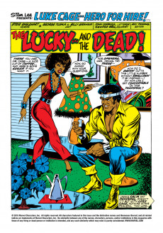 Extrait de Luke Cage, Hero for Hire (Marvel - 1972) -10- They Call Him... Mr. Death!