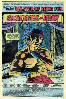 Extrait de Master of Kung Fu Vol. 1 (Marvel - 1974) -76- Battle on the Waterfront!