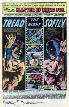 Extrait de Master of Kung Fu Vol. 1 (Marvel - 1974) -78- Moving Targets!